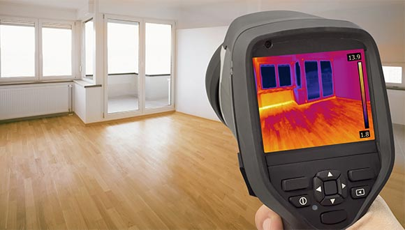 Thermal imaging home inspection services from I & O Inspections
